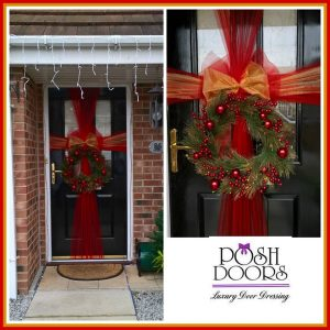 Christmas Door Bow