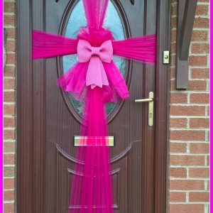 Posh doors are not just for Christmas.