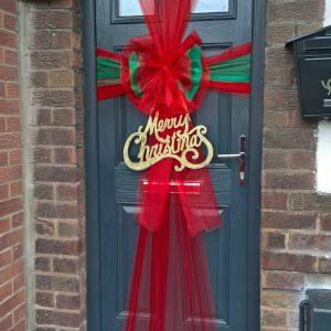 Christmas Door Bows