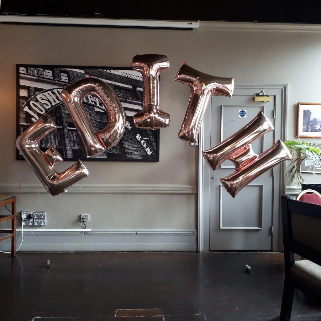 Balloon Name Arch
