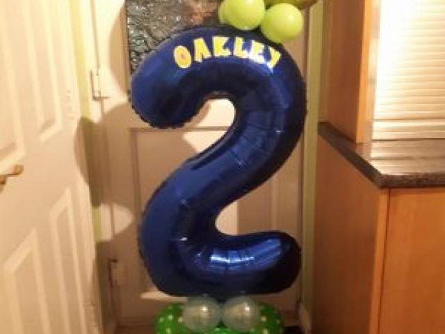 Farm themed childrens balloons