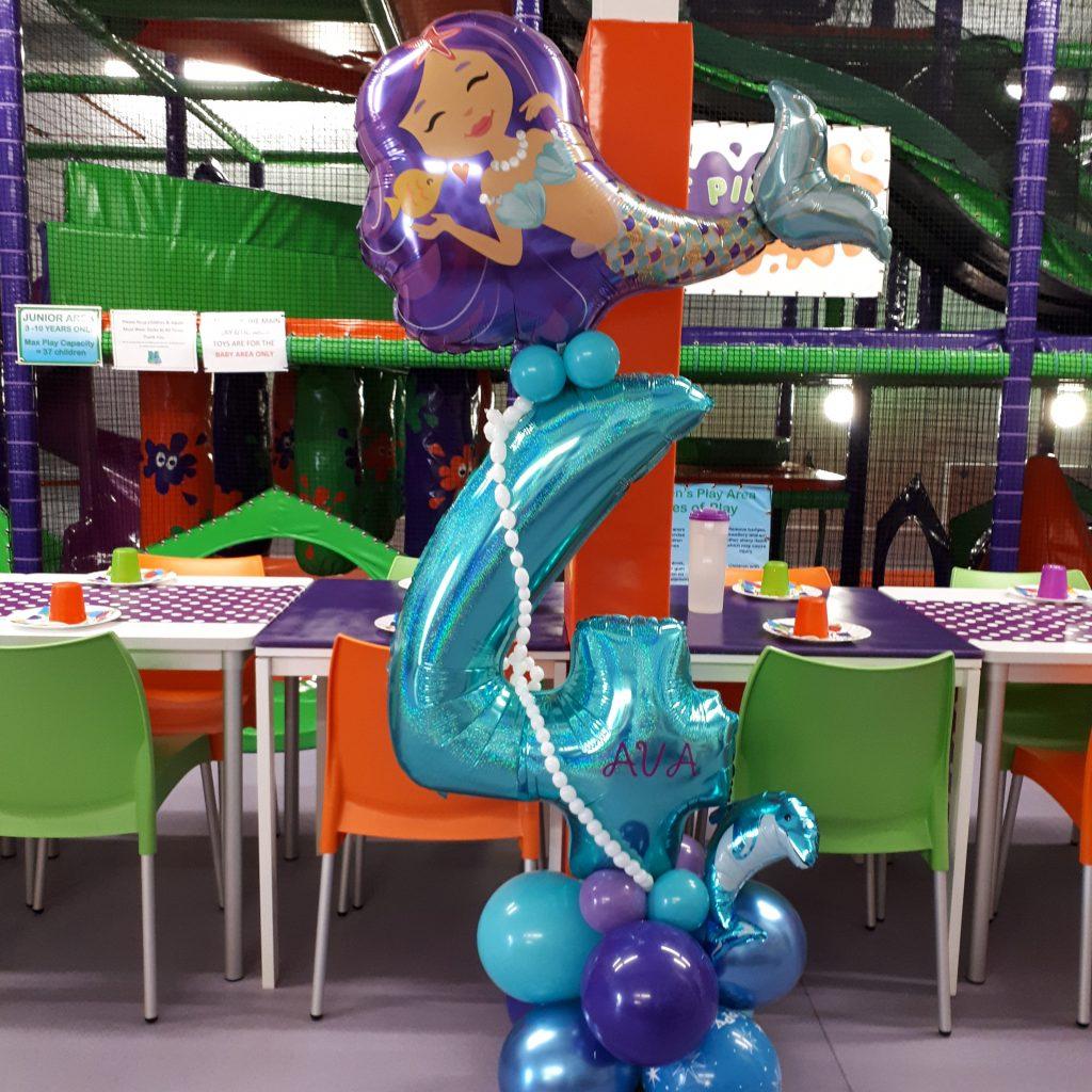 Mermaid Balloon display