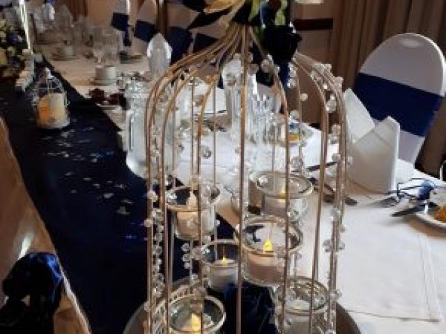 Wedding Birdcage Centrepiece