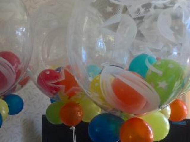 Colourful Bubble Balloons