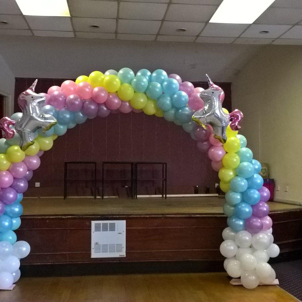Unicorn Balloon Arch